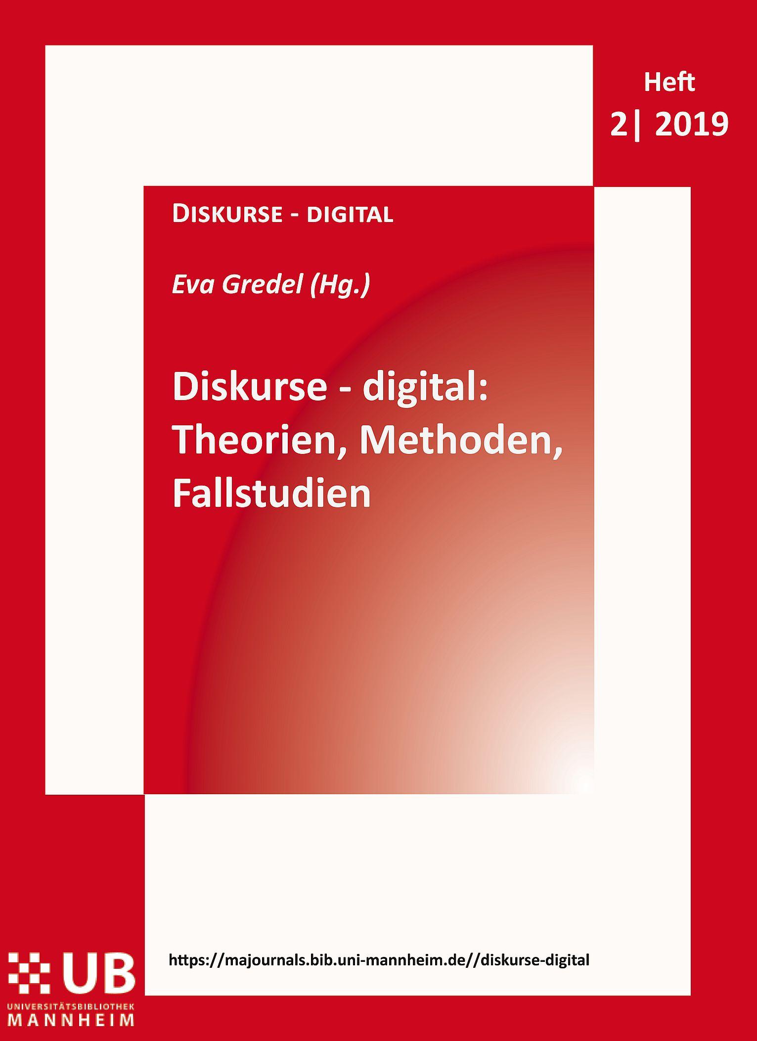Coverbild: Diskurse - digital, Band 1, Heft 2