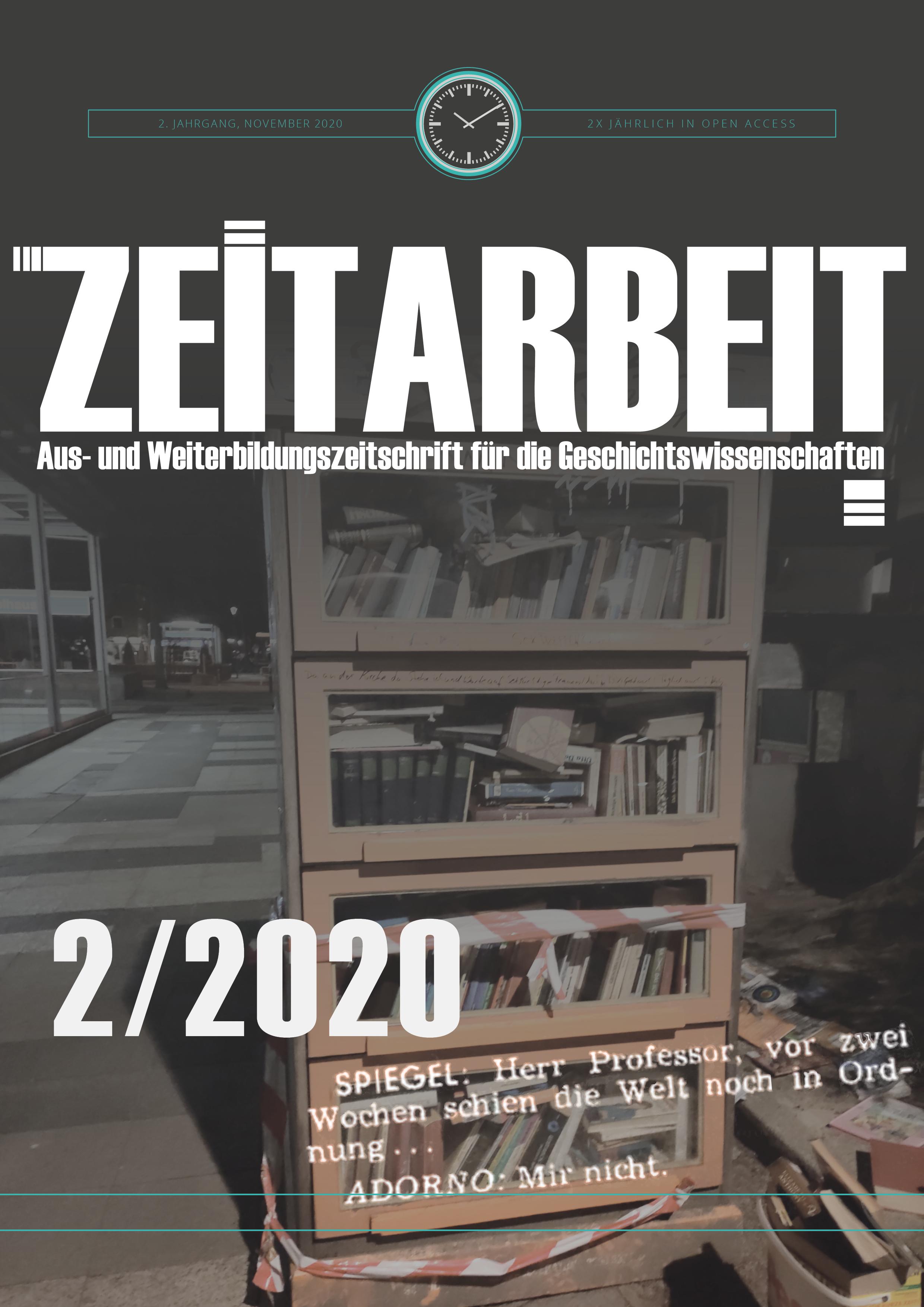 Coverbild: Zeitarbeit Band 2/2020