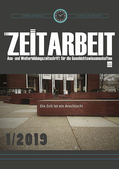 Coverbild :Zeitarbeit Band 1/2019